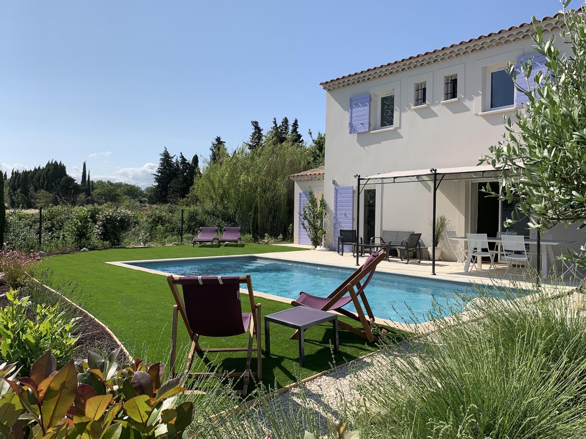 Location villa provence - Villa Rolo dans les Alpilles