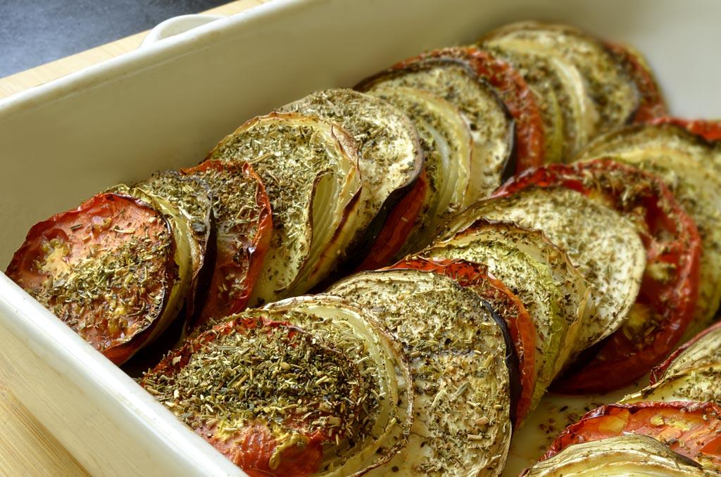 tian aux légumes provençale